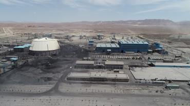 مجتمع کنسانتره و گندله و معدن سنگ آهن جلال آباد زرند